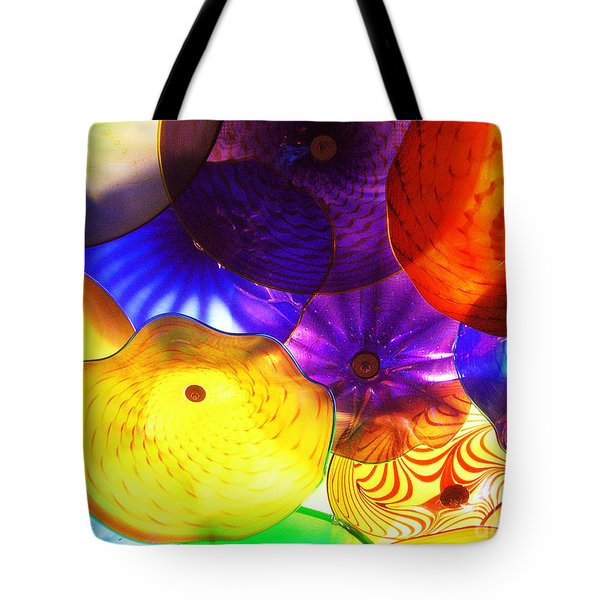 Celestial Glass 3 Tote Bag by Xueling Zou