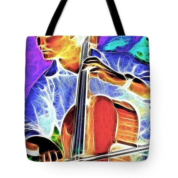Cello Tote Bag by Stephen Younts