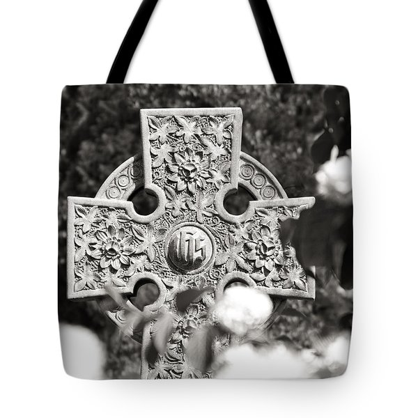 Celtic Cross I Tote Bag by Tom Mc Nemar