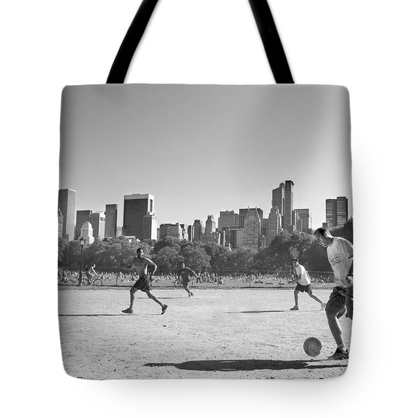 Central Park Tote Bag by Robert Lacy