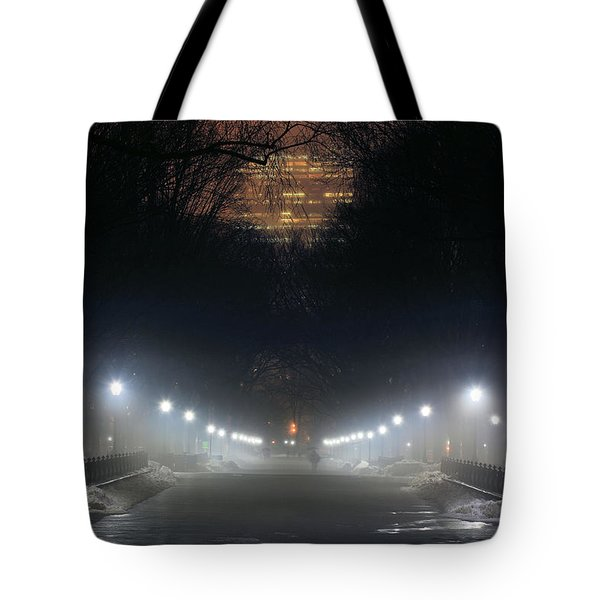 Central Park Shadows Tote Bag by JC Findley