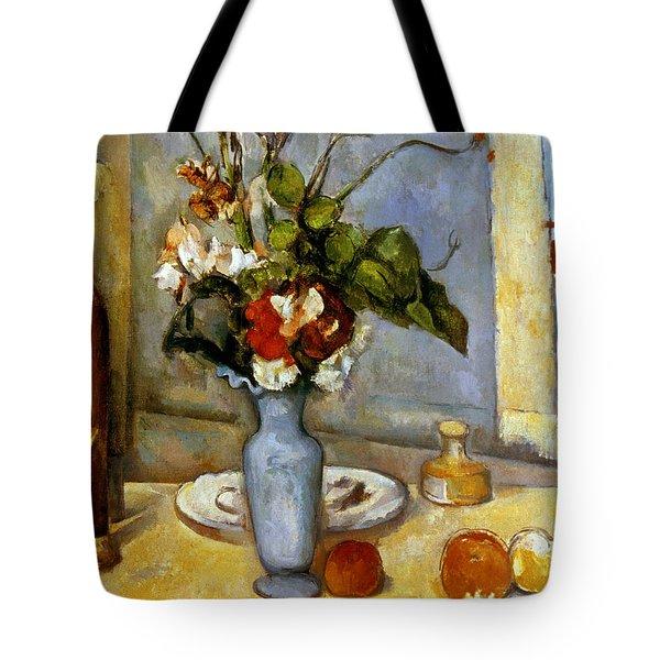 Cezanne: Blue Vase, 1885-87 Tote Bag by Granger