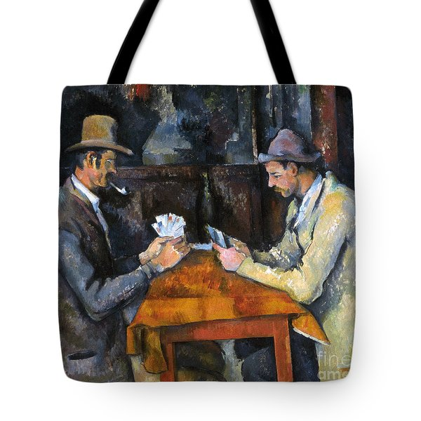 Cezanne: Card Player, C1892 Tote Bag by Granger