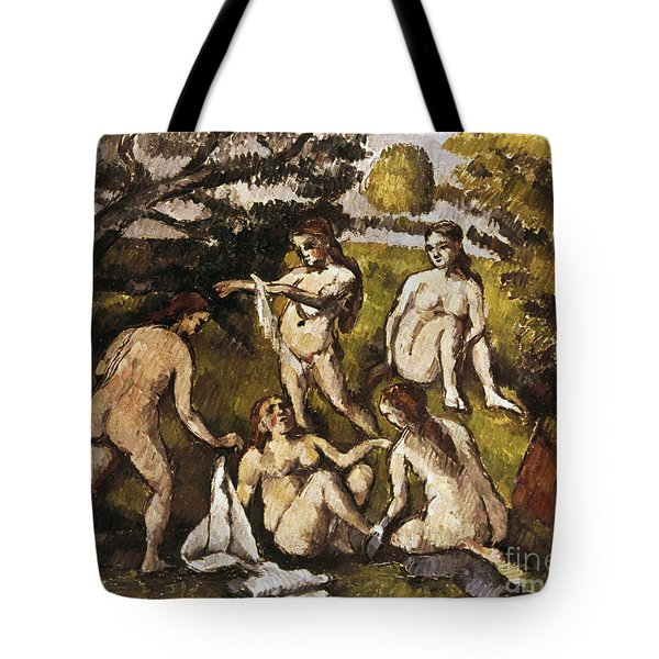 Cezanne: Five Bathers Tote Bag by Granger