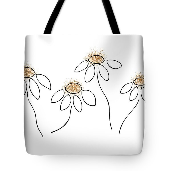 Chamomile Tote Bag by Frank Tschakert