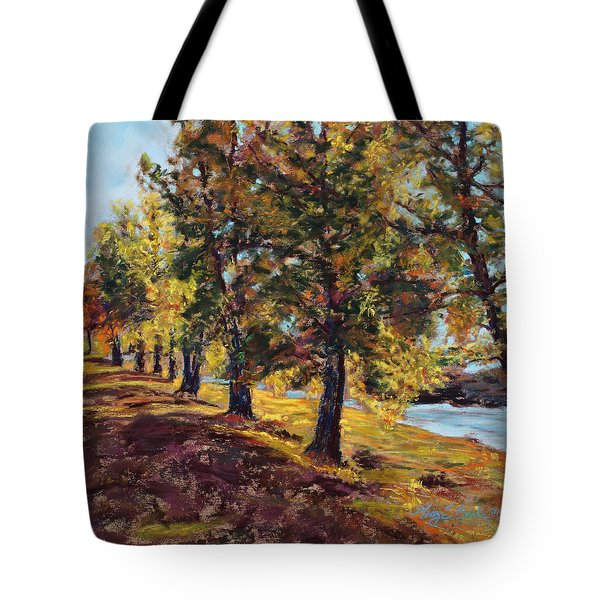 Changing Of The Guard Tote Bag by Mary Benke