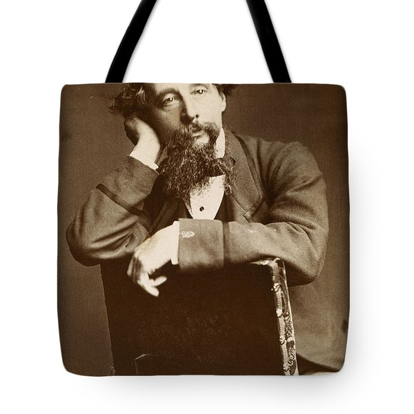 Charles Dickens Tote Bag by Granger