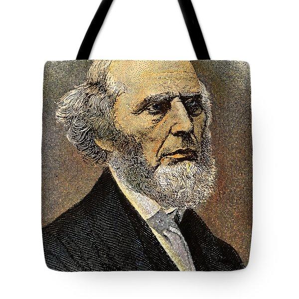 Charles Grandison Finney Tote Bag by Granger