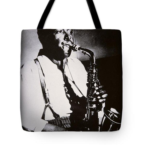 Charlie Parker Tote Bag by American School