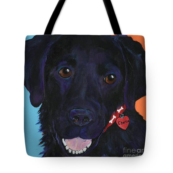 Charlie Tote Bag by Pat Saunders-White