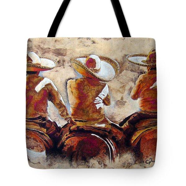 Charros Tote Bag by Jose Espinoza