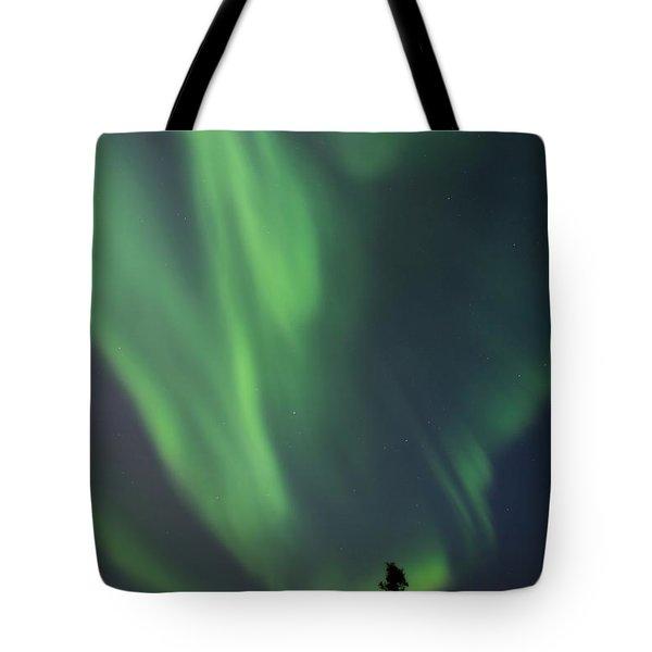 chasing lights II natural Tote Bag by Priska Wettstein
