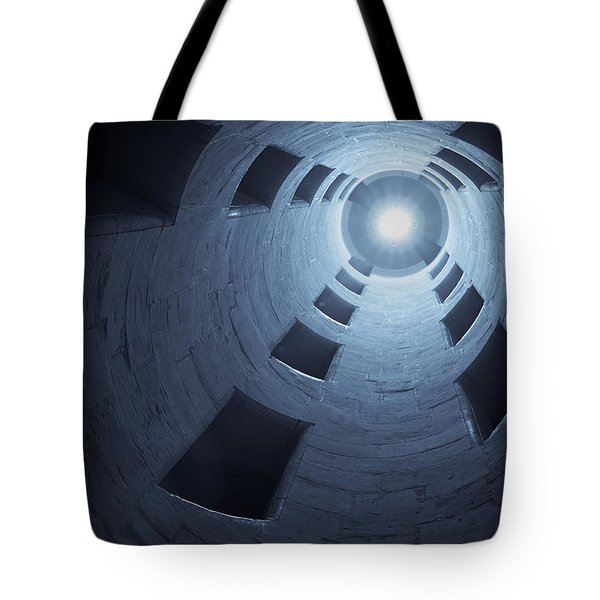 Chateau De Chambord Double Staircase Tote Bag by Sebastian Musial