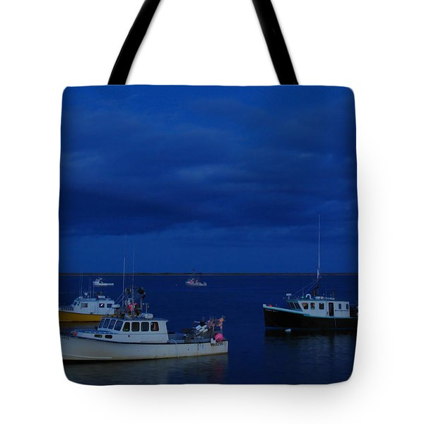Chatham Pier Tote Bag by Juergen Roth