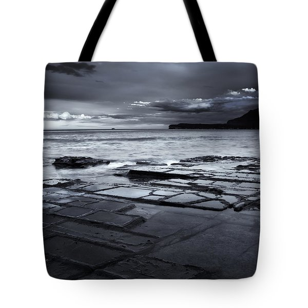 Checkerboard Squares Tote Bag by Mike  Dawson