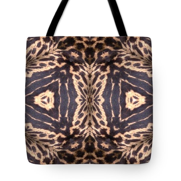Cheetah Print Tote Bag by Maria Watt