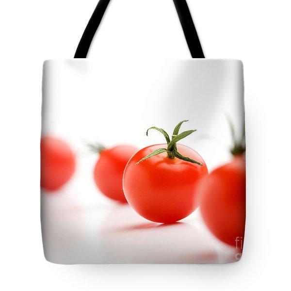 Cherry Tomatoes Tote Bag by Kati Molin