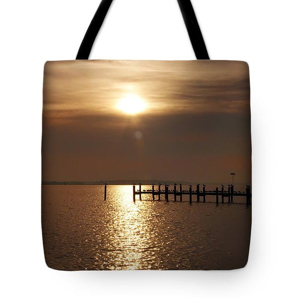 Chesapeake Morning Tote Bag by Bill Cannon
