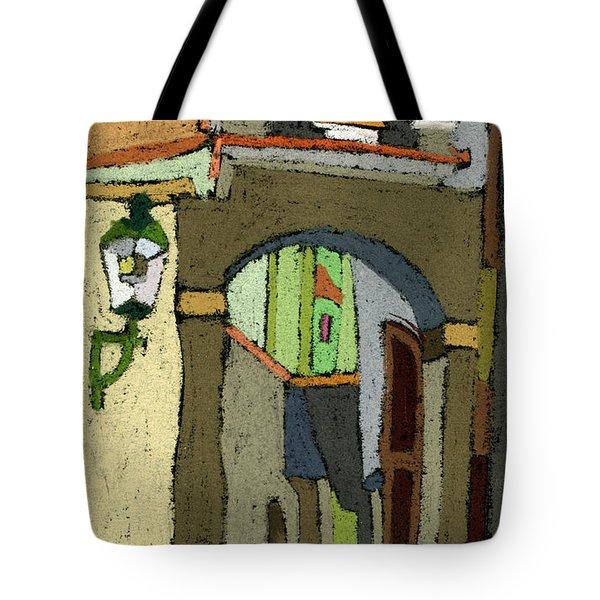 Chesky Krumlov Old Street Latran  Tote Bag by Yuriy  Shevchuk