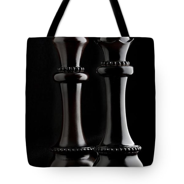 Chessmen I Tote Bag by Tom Mc Nemar