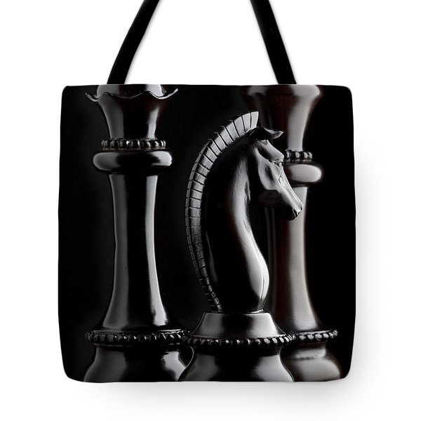 Chessmen II Tote Bag by Tom Mc Nemar