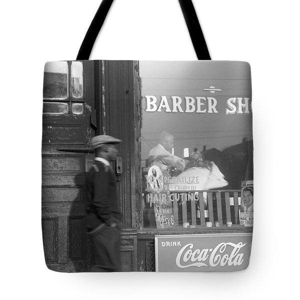 Chicago: Barber Shop, 1941 Tote Bag by Granger