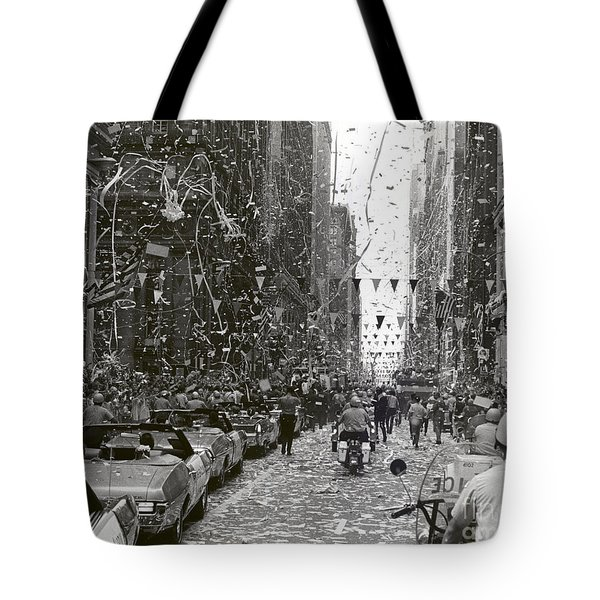 Chicago Welcomes Apollo 11 Astronauts Tote Bag by NASA
