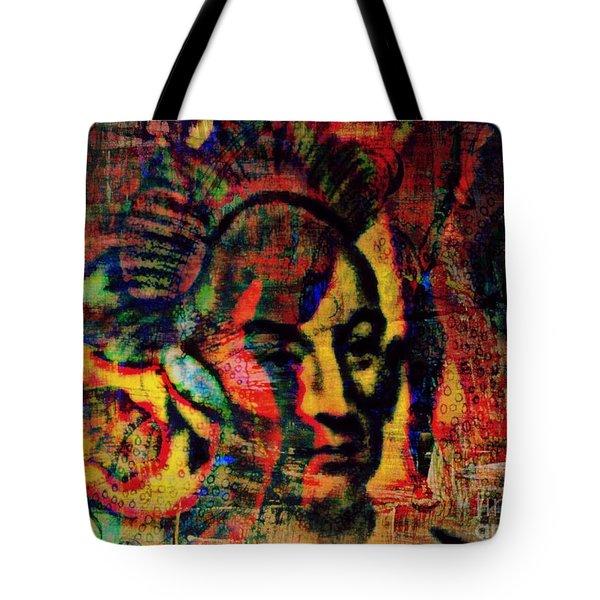 Chief Black Hawk Tote Bag by WBK