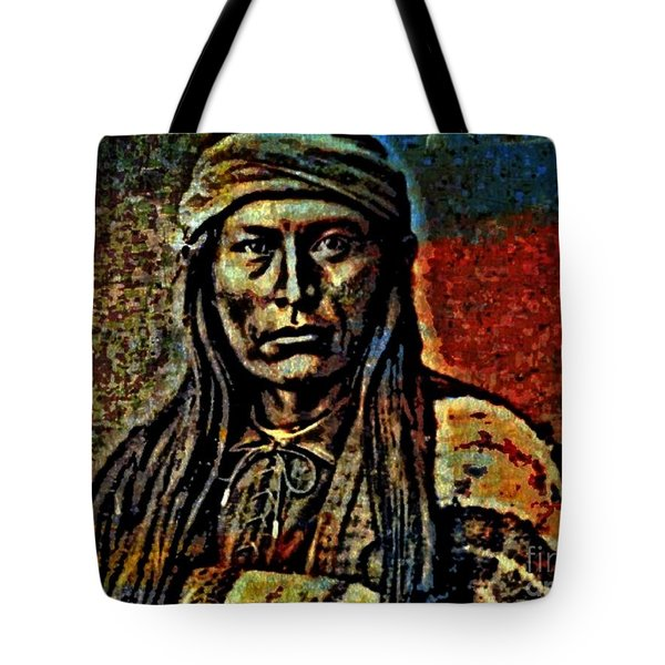 Chief Cochise Tote Bag by WBK