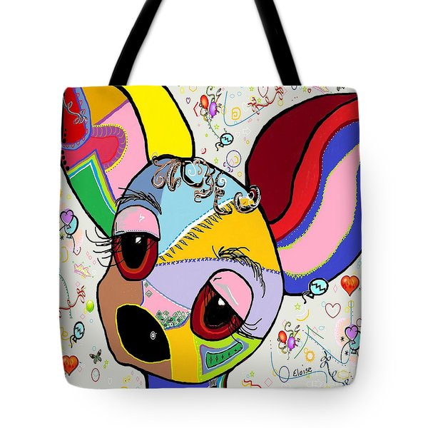 Chihuahua Tote Bag by Eloise Schneider