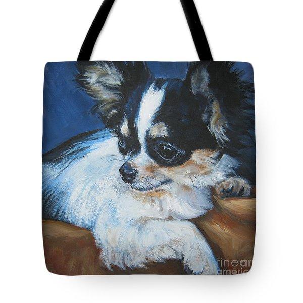 Chihuahua Tote Bag by Lee Ann Shepard