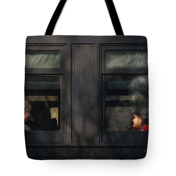 Children - Generations Tote Bag by Mike Savad