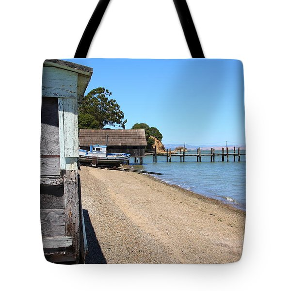 China Camp In Marin Ca Tote Bag by Wingsdomain Art and Photography