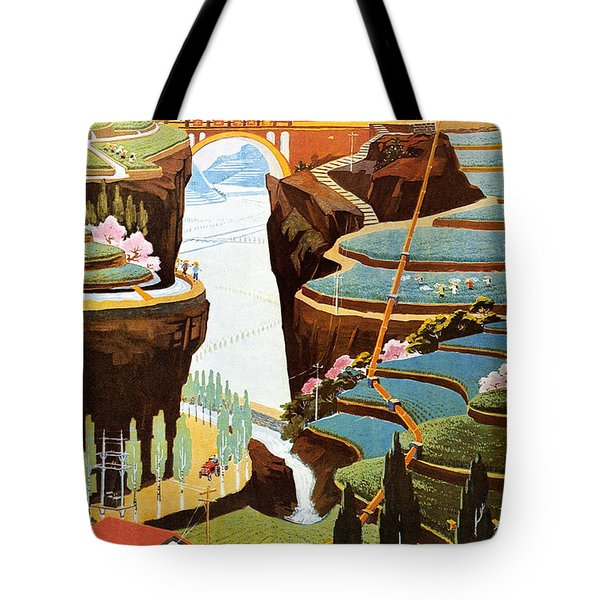 China: Poster, 1975 Tote Bag by Granger