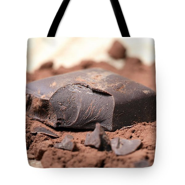 Chocolate Tote Bag by Frank Tschakert