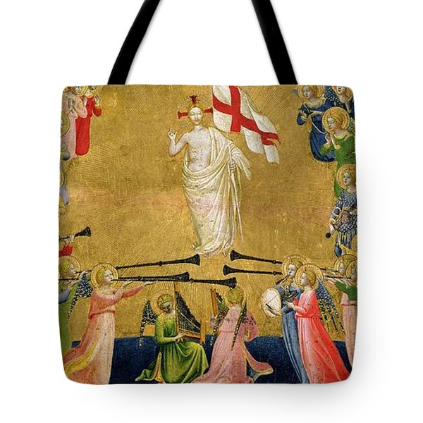 Christ Glorified In The Court Of Heaven Tote Bag by Fra Angelico