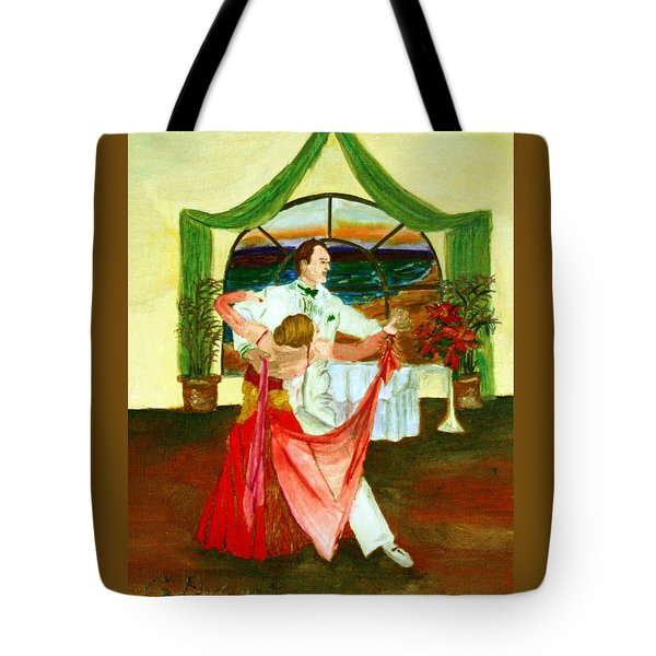 Christmas Ball Tote Bag by Gail Daley