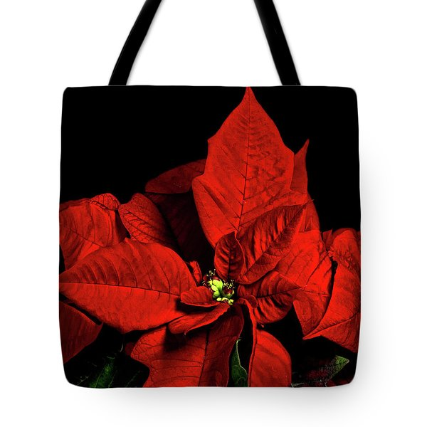 Christmas Fire Tote Bag by Christopher Holmes