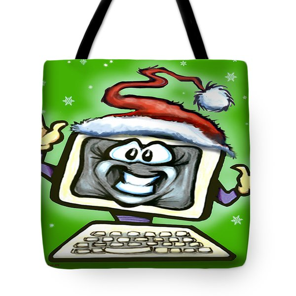 Christmas Office Party Tote Bag by Kevin Middleton
