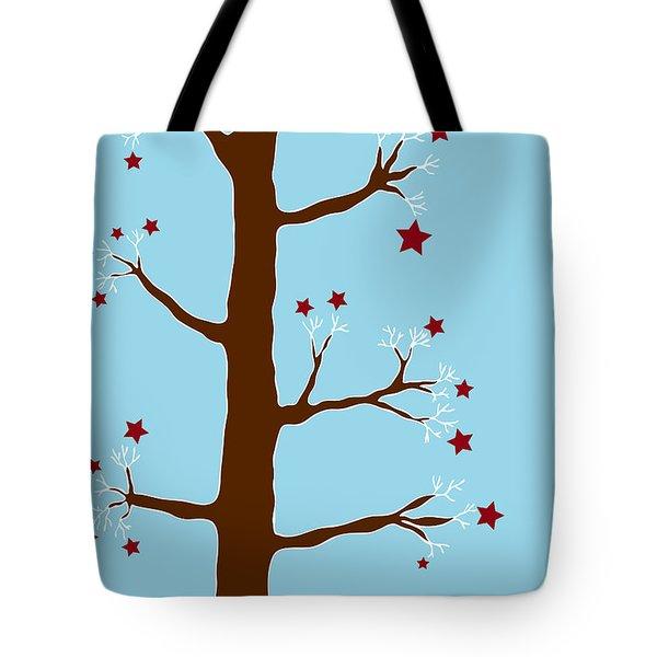 Christmas Tree Tote Bag by Frank Tschakert