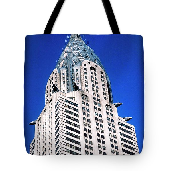 Chrysler Building Tote Bag by John Greim