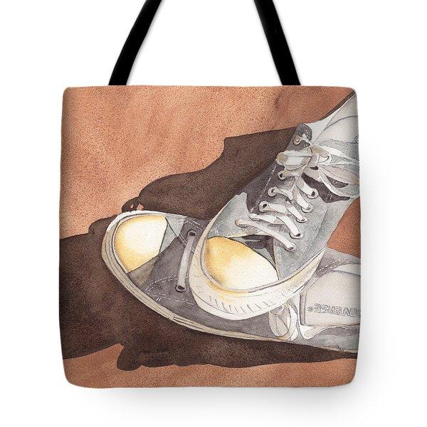 Chucks Tote Bag by Ken Powers