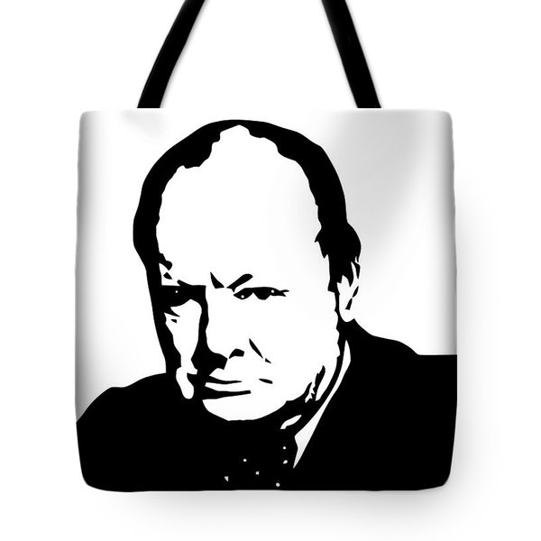 Churchill Tote Bag by War Is Hell Store