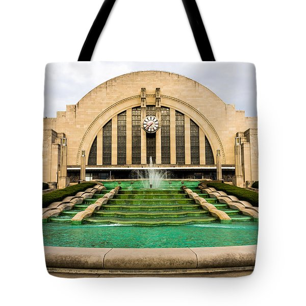 Cincinnati Museum Center Picture Tote Bag by Paul Velgos