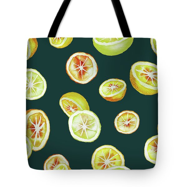 Citrus Tote Bag by Varpu Kronholm