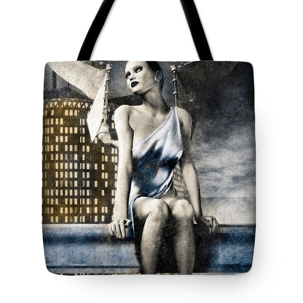 City Angel -2 Tote Bag by Bob Orsillo