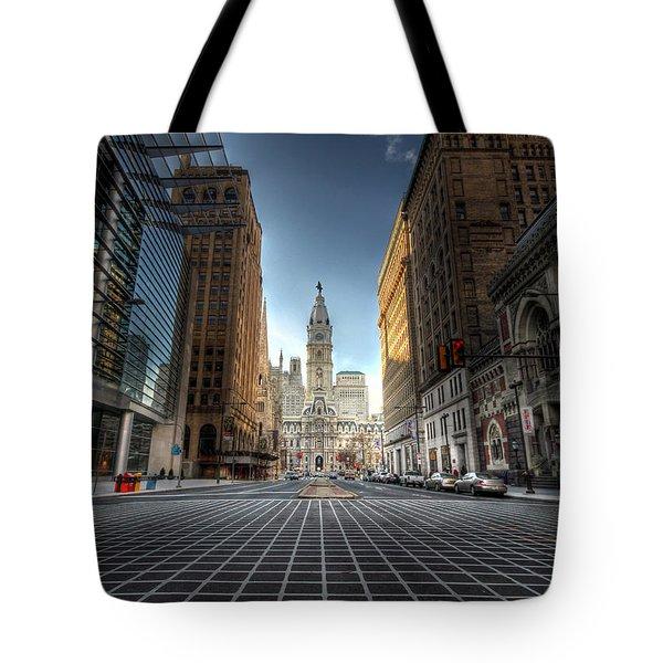 City Hall Tote Bag by Lori Deiter