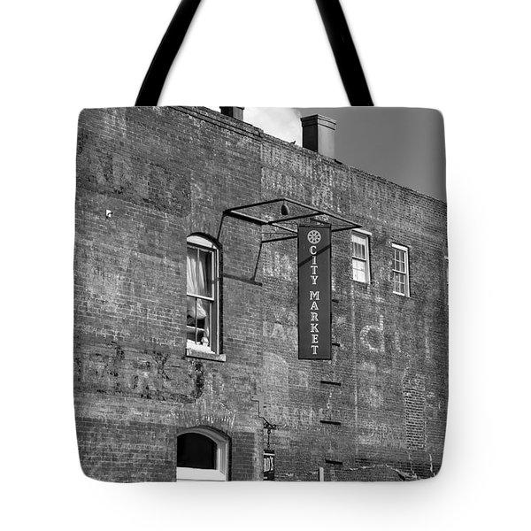 City Market Savannah Tote Bag by David Lee Thompson