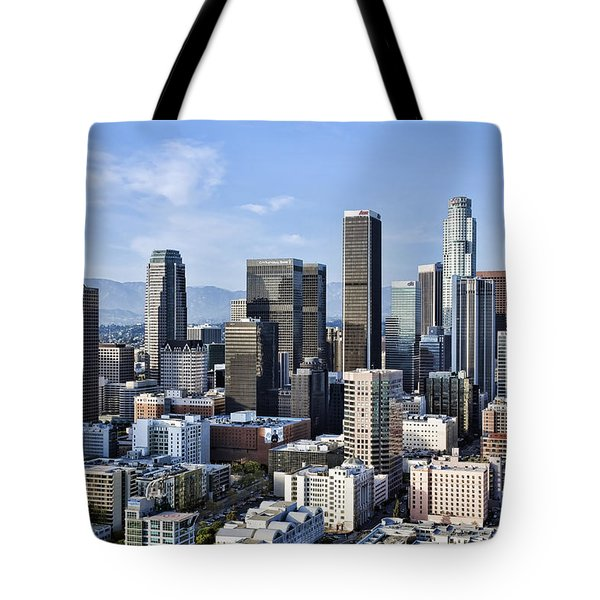 City of Los Angeles Tote Bag by Kelley King