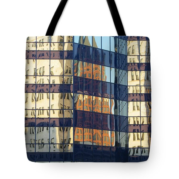 City Reflections 1 Tote Bag by Anita Burgermeister